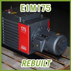 Edwards E1M175 Single Stage Vacuum Pump - REBUILT