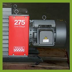 Edwards E1M275 Single Stage Vacuum Pump - REBUILT