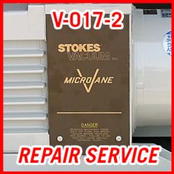 Stokes V-017-2 - REPAIR SERVICE