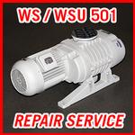 Leybold WS / WSU 501 - REPAIR SERVICE