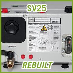 Leybold SOGEVAC SV25 Vacuum Pump - REBUILT