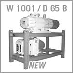 Leybold RUTA W 1001 / D 65 B Vacuum Pump System - NEW