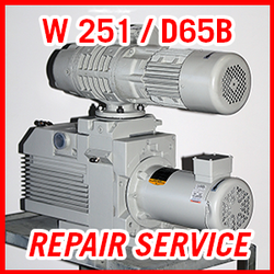 Leybold W 251 / D65B - REPAIR SERVICE