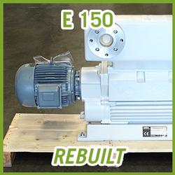 Leybold E 150 Rotary Piston Vacuum Pump - REBUILT