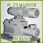 Leybold RUTA W 251 / D65B Vacuum Pump System - REBUILT