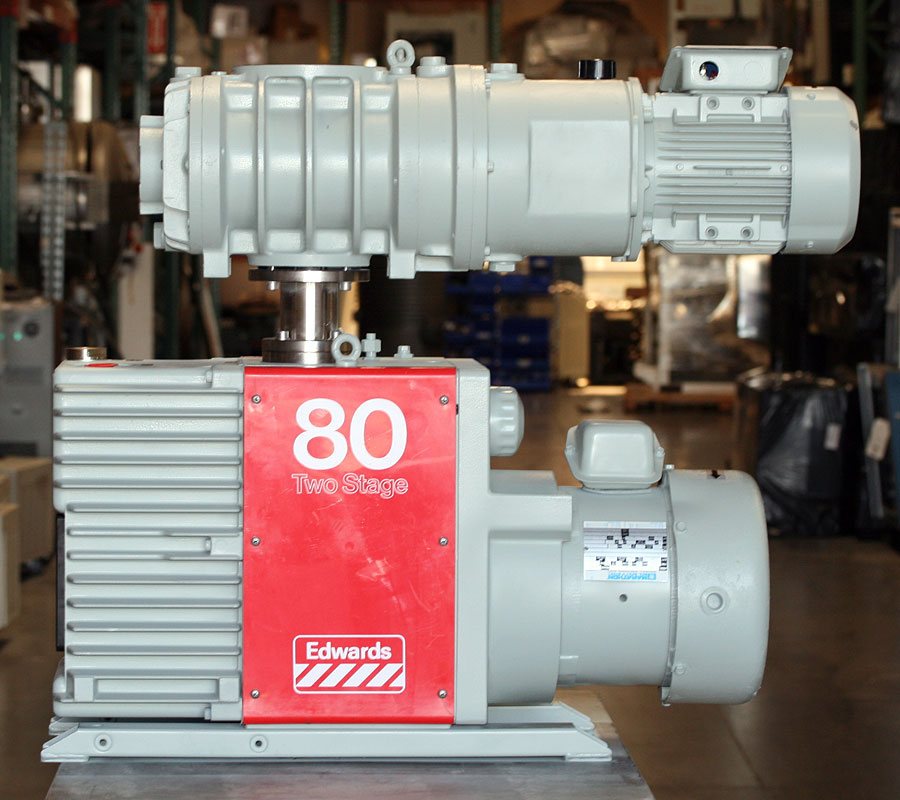 Vacuum And Blower Systems : Edwards e m eh vacuum blower system rebuilt