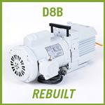 Leybold TRIVAC D8B Vacuum Pump - REBUILT