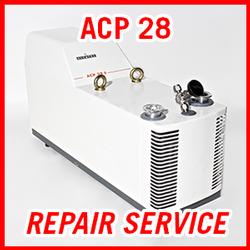 Adixen ACP 28 - REPAIR SERVICE
