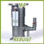 Agilent Varian M4 Diffusion High Vacuum Pump - REBUILT