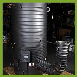Agilent Varian NHS-35 Diffusion High Vacuum Pump - REBUILT