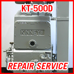 Tuthill KT-500D - REPAIR SERVICE