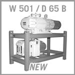Leybold RUTA W 501 / D 65 B Vacuum Pump System - NEW