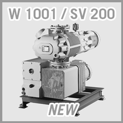 Leybold RUTA W 1001 / SV 200 Vacuum Pump System - NEW