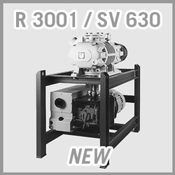 Leybold RUTA RA 3001 / SV 630 Vacuum Pump System - NEW