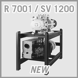 Leybold RUTA RA 7001 / SV 1200 Vacuum Pump System - NEW