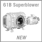 "Edwards Stokes 61B 6"" Series Mechanical Superblower - NEW"