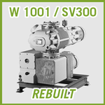 Leybold RUTA W 1001 / SV300 Vacuum Pump System - REBUILT