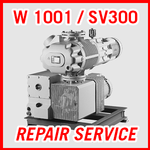 Leybold W 1001 / SV300 - REPAIR SERVICE