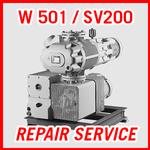 Leybold W 501 / SV200 - REPAIR SERVICE