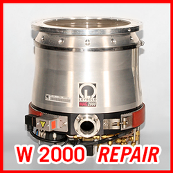 Leybold MAG W 2000 / C / CT - REPAIR SERVICE