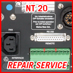 Leybold NT 20 - REPAIR SERVICE