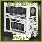 Edwards iQDP80 / QMB1200 Vacuum Blower System - REBUILT