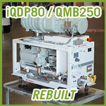 Edwards iQDP80 / QMB250 Vacuum Blower System - REBUILT