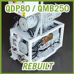 Edwards QDP80 / QMB250 Vacuum Blower System - REBUILT