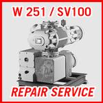 Leybold W 251 / SV100 - REPAIR SERVICE