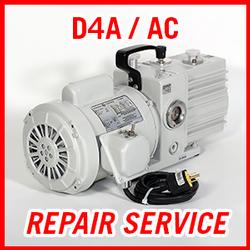 Leybold D4A / D4AC - REPAIR SERVICE