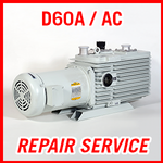 Leybold D60A / D60AC - REPAIR SERVICE