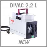 Leybold DIVAC 2.2 L Dry Diaphragm Vacuum Pump - NEW
