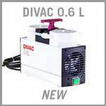 Leybold DIVAC 0.6 L Dry Diaphragm Vacuum Pump - NEW