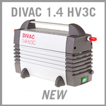 Leybold DIVAC 1.4 HV3C Dry Diaphragm Vacuum Pump - NEW
