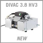Leybold DIVAC 3.8 HV3 Dry Diaphragm Vacuum Pump - NEW