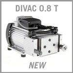 Leybold DIVAC 0.8 T Dry Diaphragm Vacuum Pump - NEW