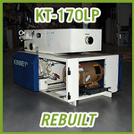 Tuthill Kinney KT-170LP Rotary Piston Vacuum Pump - REBUILT
