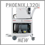 Leybold PHOENIX L320i, L340i, L500i Mobile Helium Leak Detectors - NEW