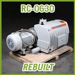 Busch RC-0630 R 5 Rotary Vane Vacuum Pump - REBUILT
