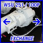 Leybold WSU 251 / DRYVAC 100P - EXCHANGE SERVICE