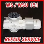 Leybold WS / WSU 151 - REPAIR SERVICE