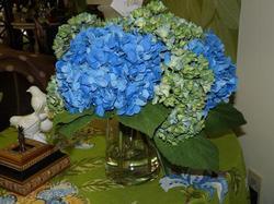 Silk Hydrangea Arrangement