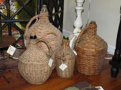 Antique French Wine Jugs