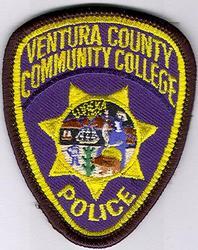 School: CA, Ventura Co. Community College Police Patch (cap size)
