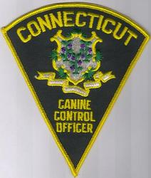 Canine Control Officer Patch (CT)