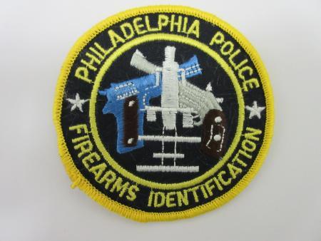 Philadelphia Firearms Identification Police Patch (PA)