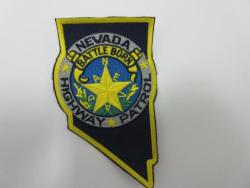 State: NV, State Highway Patrol Police Patch (large)