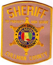 Sheriff: AL, Cullman Co. Deputy Sheriff Patch