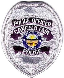 Canfield Fair Police Officer Patch (cap)(OH)