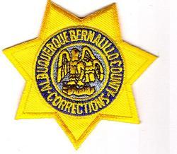 Albuquerque Bernalillo Co. Corrections Patch (cap)(NM)